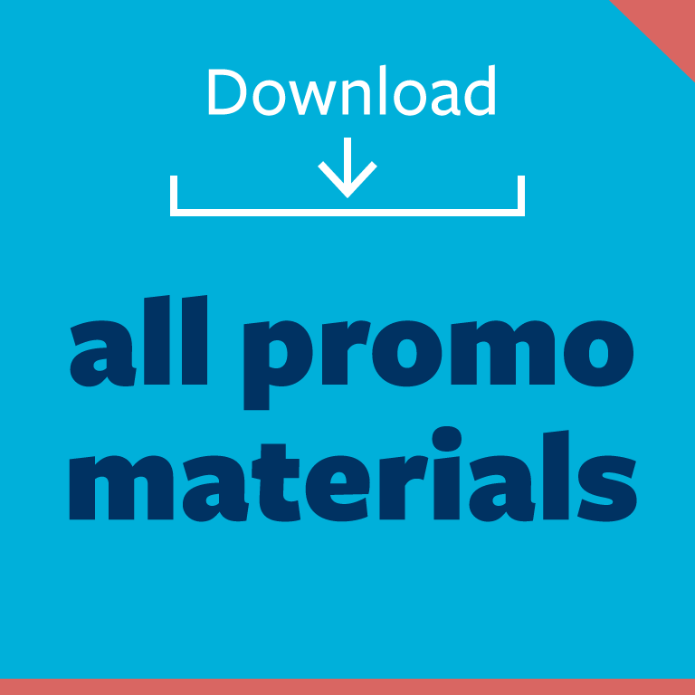 graphic button: download all promo materials