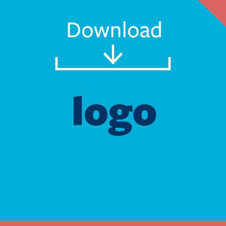 graphic button: download logo